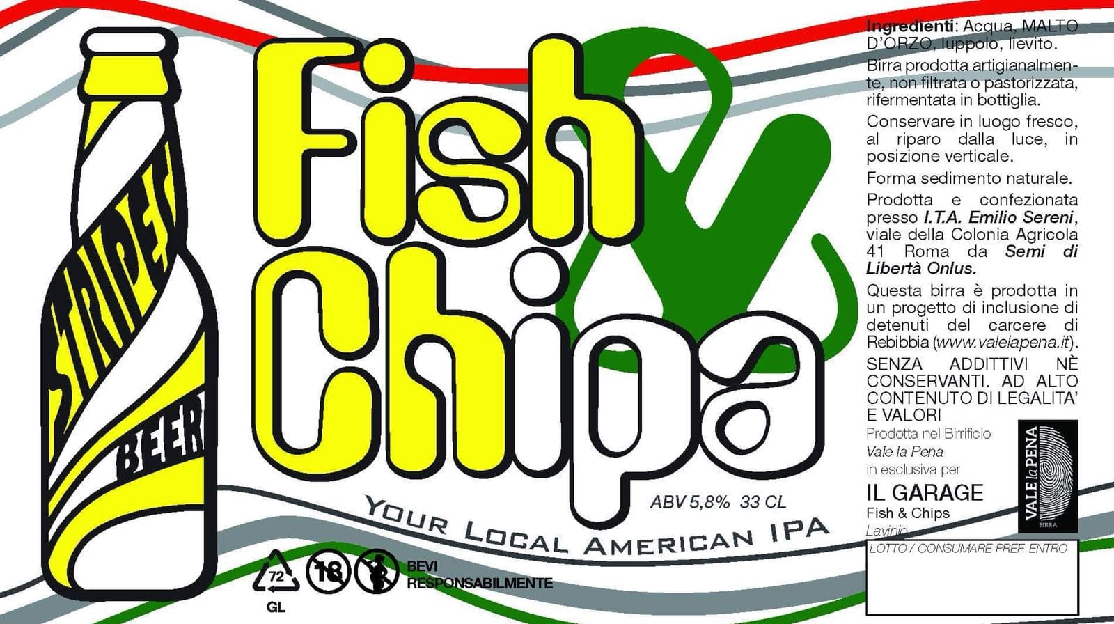 Fish&ChIPA-IPA by Fish&Chips il Garage Anzio